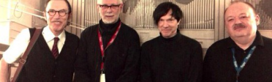 Sparks and Telex paid tribute to Marc Moulin