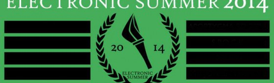 Electronic Summer 2014 taking shape