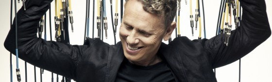 "First look at Martin Gore's new solo album ""MG"""