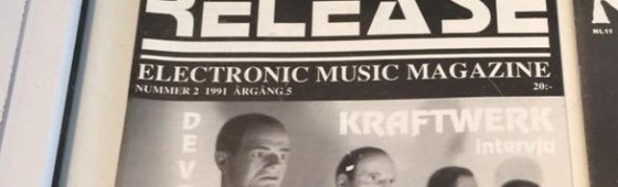Release Magazine part of Kraftwerk museum exhibition