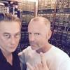 Eskil Simonsson and Thomas P. Heckmann recording together