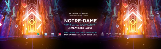 Virtual New Year's Eve concert with Jean-Michel Jarre