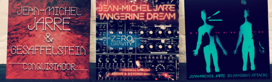 Jarre collaborates with M83, Massive Attack and Tangerine Dream