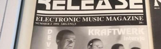 Release Magazine part of Kraftwerk museum exhibition